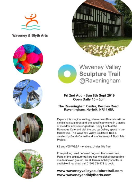 Waveney Valley Sculpture Trail – Burgh Castle Almanac